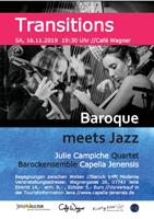 Transitions - Baroque meets Jazz Konzert am 16. November 2019